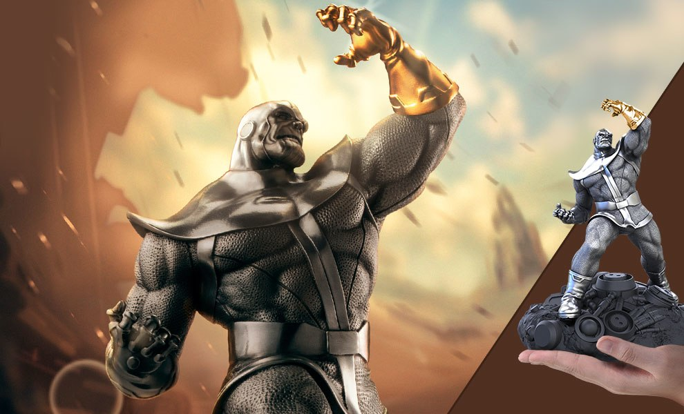 Gallery Feature Image of Thanos Figurine Pewter Collectible - Click to open image gallery