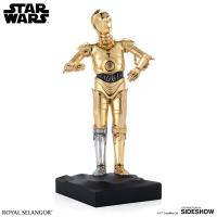 Gallery Image of C-3PO Figurine Pewter Collectible