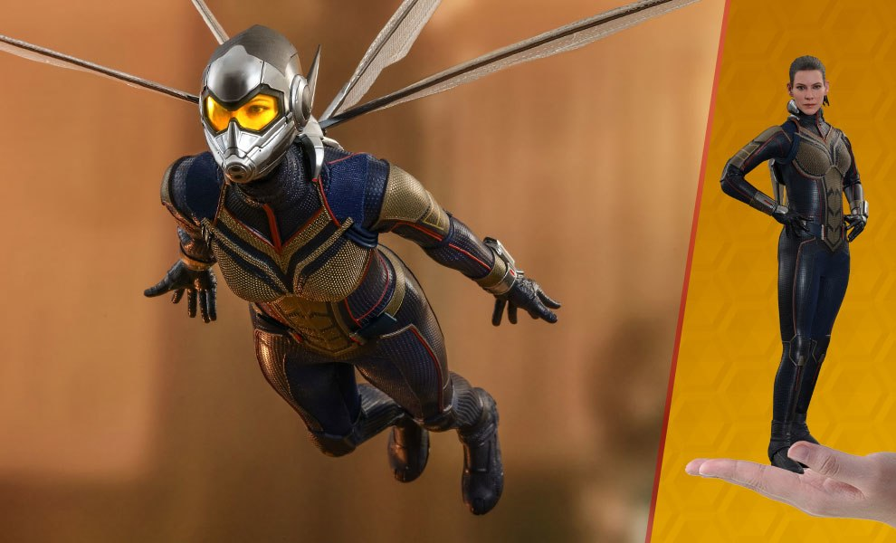 Gallery Feature Image of The Wasp Sixth Scale Figure - Click to open image gallery