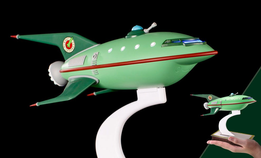 Gallery Feature Image of Planet Express Ship Scaled Replica - Click to open image gallery