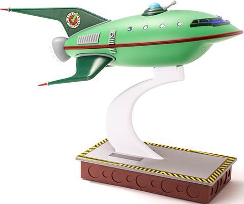 Quantum Mechanix Planet Express Ship Scaled Replica