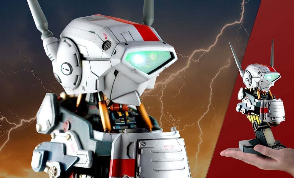 Gallery Feature Image of Valkyrie VF-1J Mechanical Bust Statue - Click to open image gallery