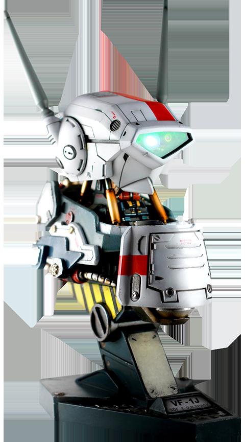 Kids Logic Company Limited Valkyrie VF-1J Mechanical Bust Statue
