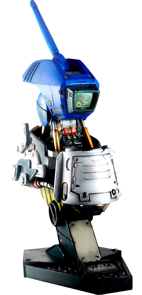 Kids Logic Company Limited Valkyrie VF-1A Max Mechanical Bust Statue