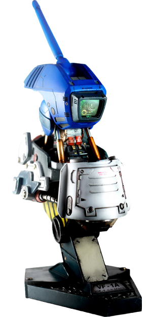 Valkyrie VF-1A Max Mechanical Bust Statue