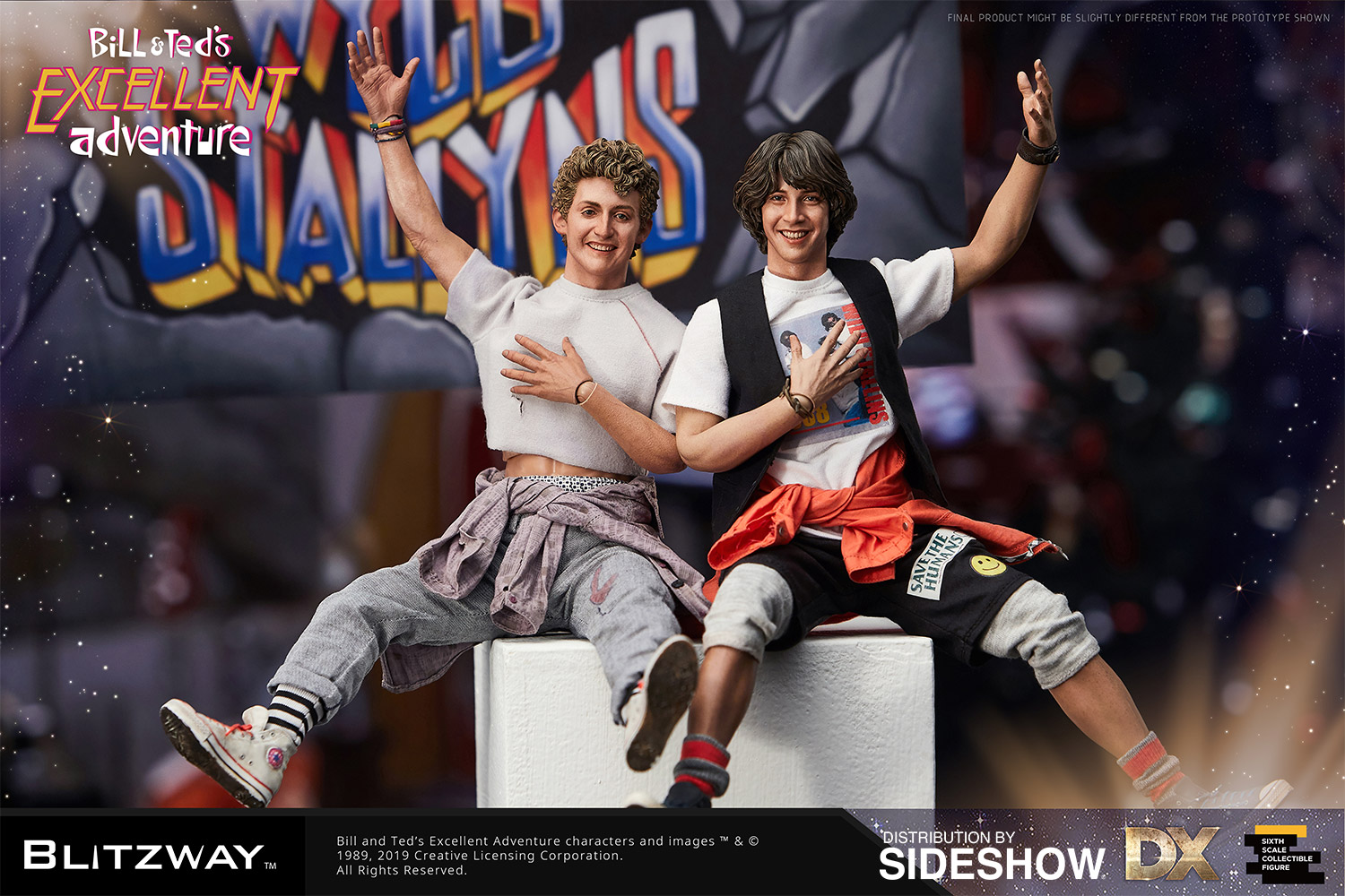 Bill and Ted Sixth Scale Collectible Figure Set by Blitzway | Sideshow  Collectibles