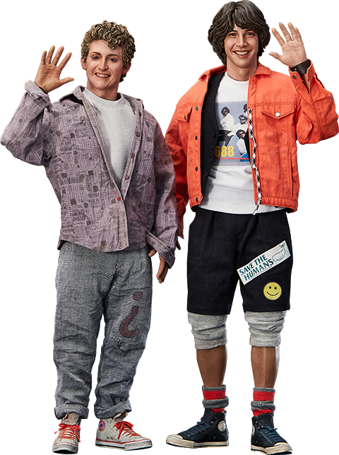 Blitzway Bill & Ted Sixth Scale Figure Set