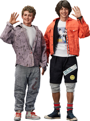 Bill & Ted Sixth Scale Figure Set