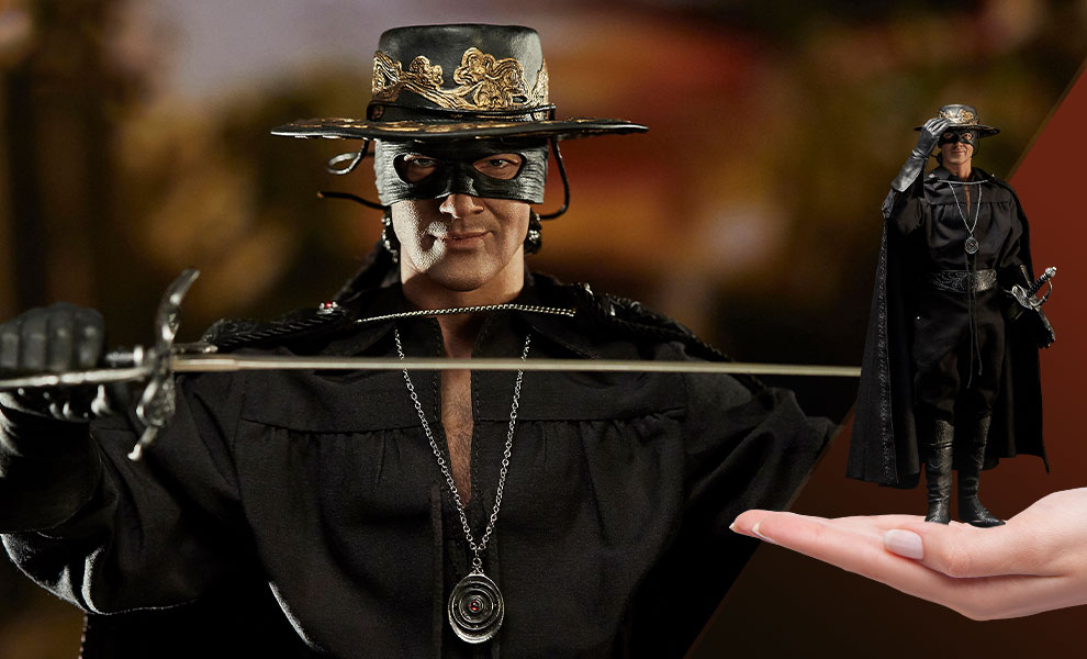 Gallery Feature Image of Zorro Sixth Scale Figure - Click to open image gallery