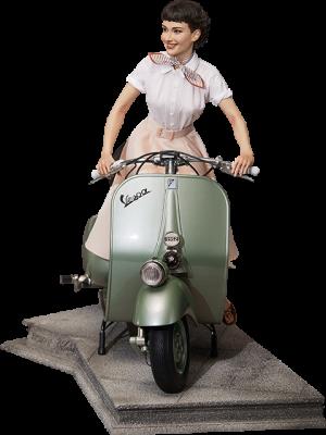 Princess Ann & 1951 Vespa 125 Statue