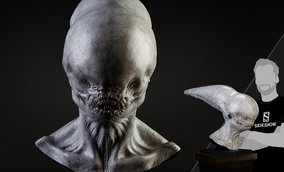 Gallery Feature Image of Neomorph Life-Size Head Prop Replica - Click to open image gallery