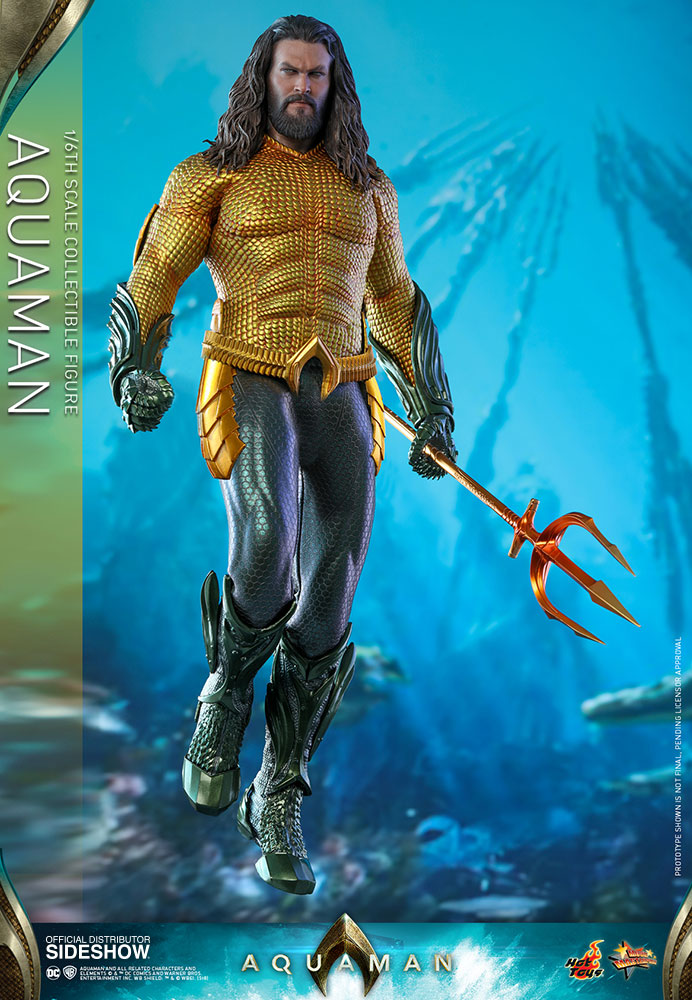 Dc Comics Aquaman Sixth Scale Figure By Hot Toys Sideshow Collectibles