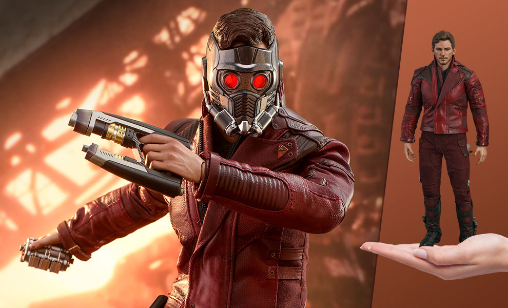 Gallery Feature Image of Star-Lord Sixth Scale Figure - Click to open image gallery