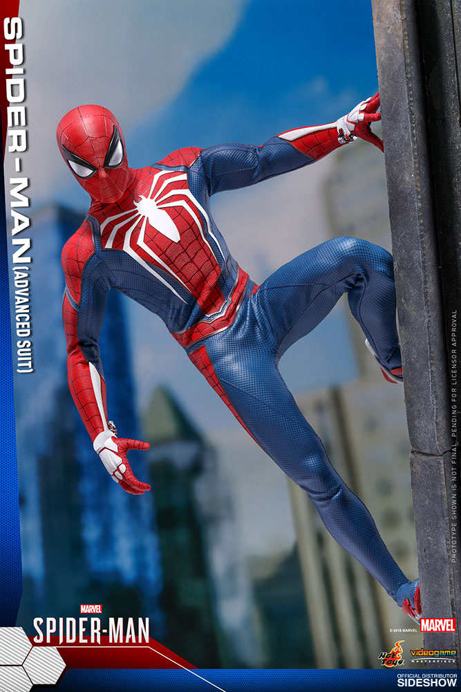 Marvel Spider Man Advanced Suit Sixth Scale Figure By Hot To