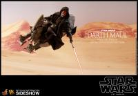 Gallery Image of Darth Maul with Sith Speeder Special Edition Sixth Scale Figure