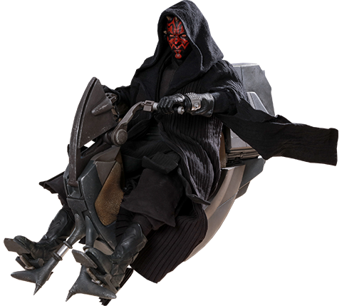 Hot Toys Darth Maul with Sith Speeder Sixth Scale Figure