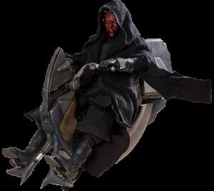 Darth Maul with Sith Speeder Sixth Scale Figure