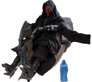 Darth Maul with Sith Speeder Special Edition Sixth Scale Figure