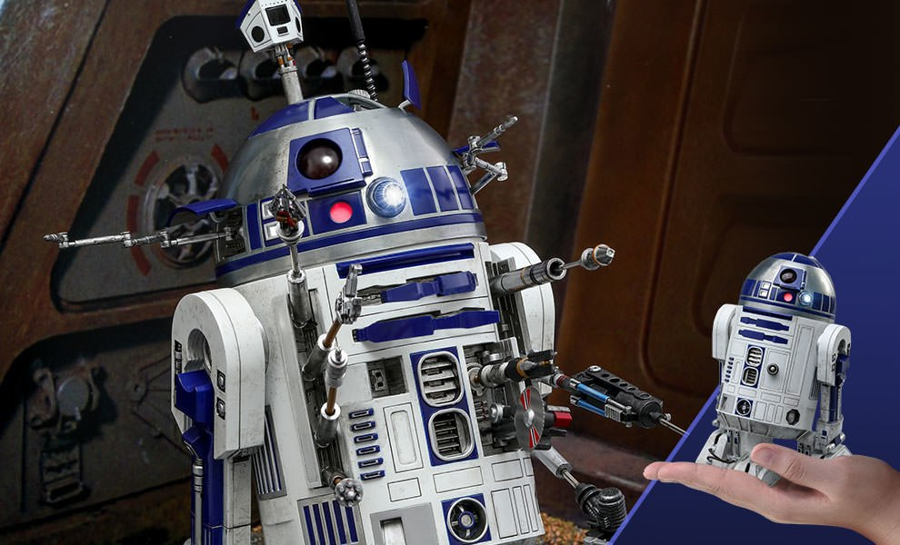 Gallery Feature Image of R2-D2 Deluxe Version Sixth Scale Figure - Click to open image gallery
