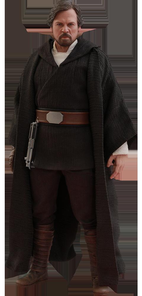 Hot Toys Luke Skywalker Crait Sixth Scale Figure