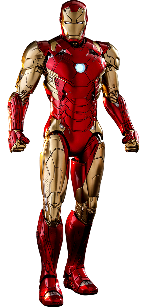 Hot Toys Iron Man Mark XLVI Concept Art Version Sixth Scale Figure