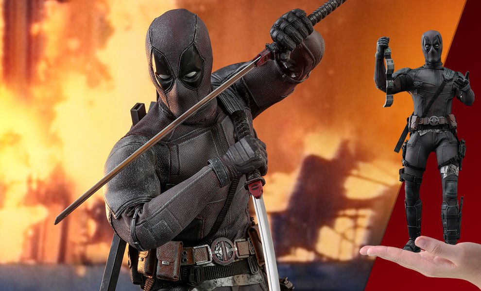Gallery Feature Image of Deadpool Dusty Version Sixth Scale Figure - Click to open image gallery