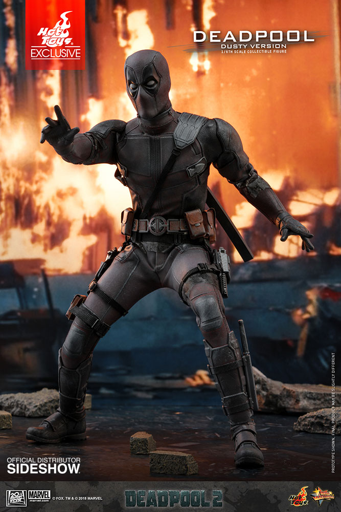 Marvel Deadpool Dusty Version Sixth Scale Figure by Hot Toys