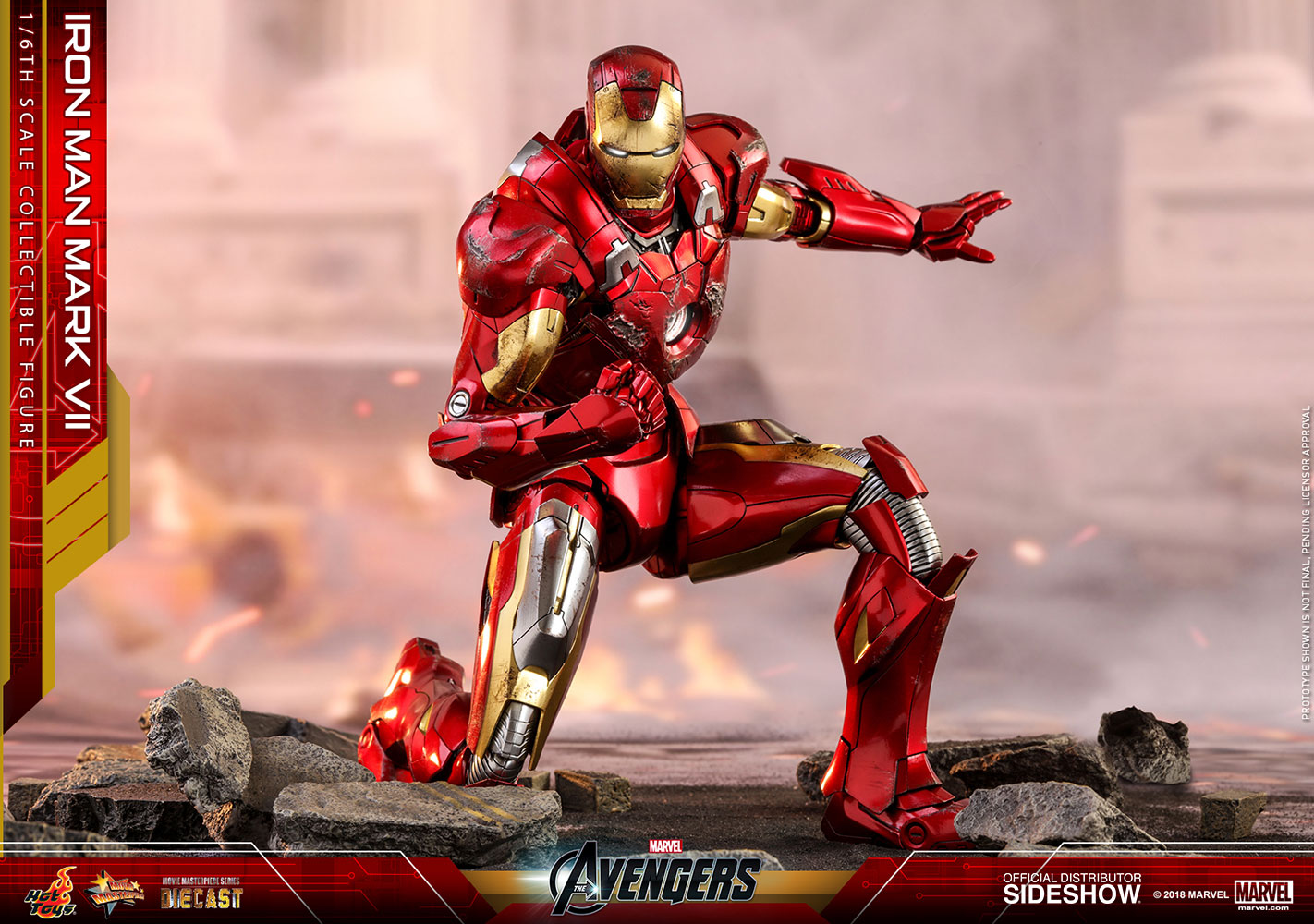 Iron Man Mark VII Collector Edition - Prototype Shown