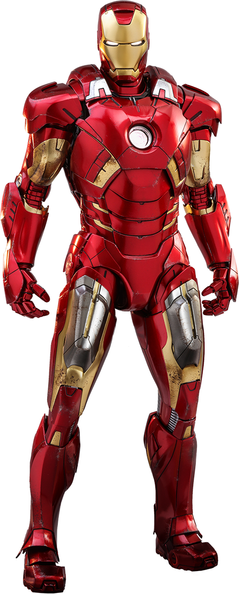 Hot Toys Iron Man Mark VII Sixth Scale Figure