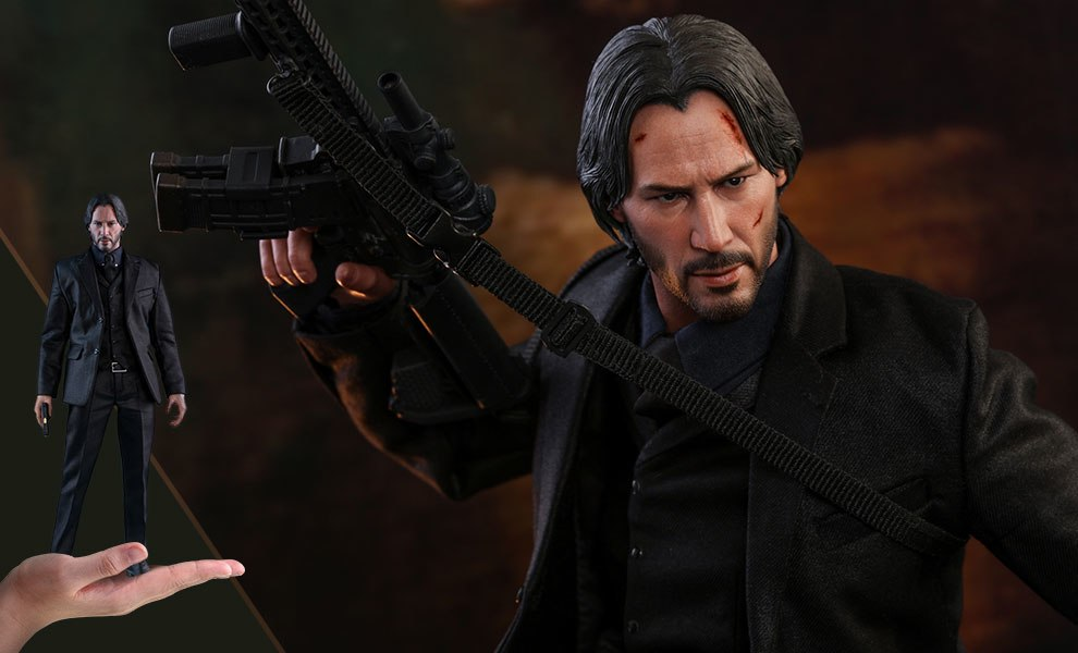 Gallery Feature Image of John Wick Sixth Scale Figure - Click to open image gallery