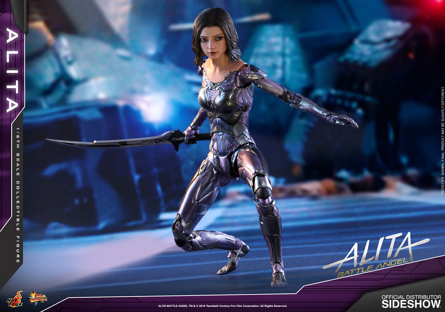 Alita: Battle Angel Sixth Scale Figure by Hot Toys