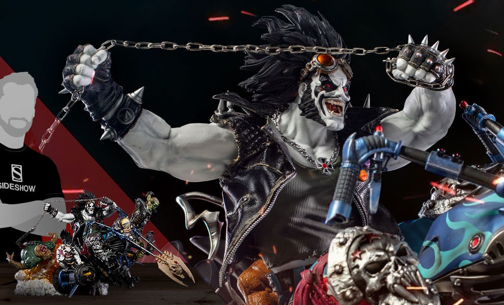 Gallery Feature Image of Lobo Sixth Scale Diorama - Click to open image gallery