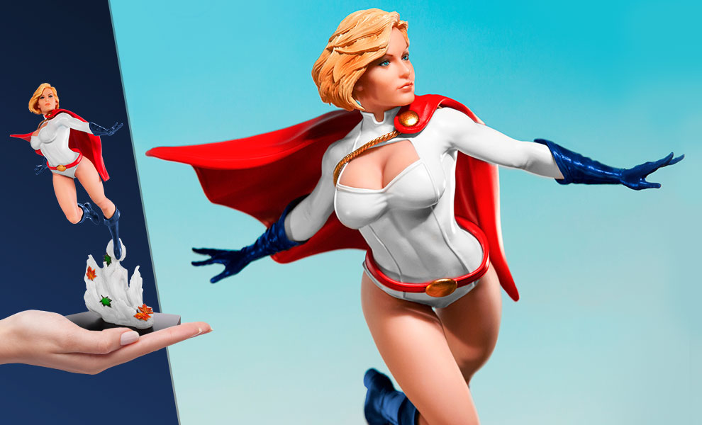 Gallery Feature Image of Power Girl Statue - Click to open image gallery