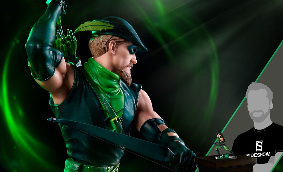 Gallery Feature Image of Green Arrow Statue - Click to open image gallery