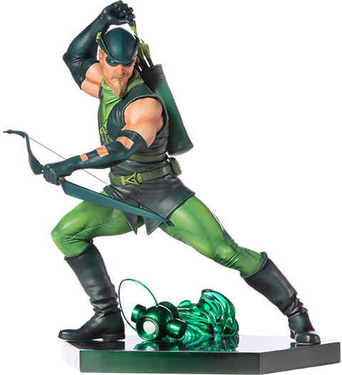 Iron Studios Green Arrow Statue