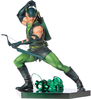 Green Arrow Statue