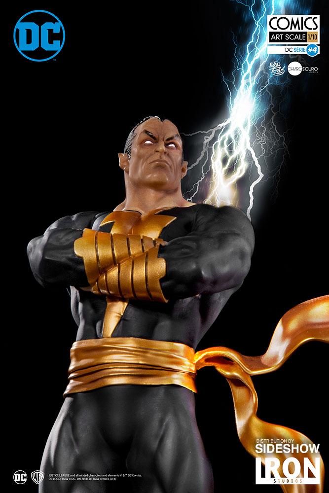 Dc Comics Black Adam Statue By Iron Studios Sideshow