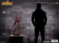 Gallery Image of Iron Spider-Man Statue