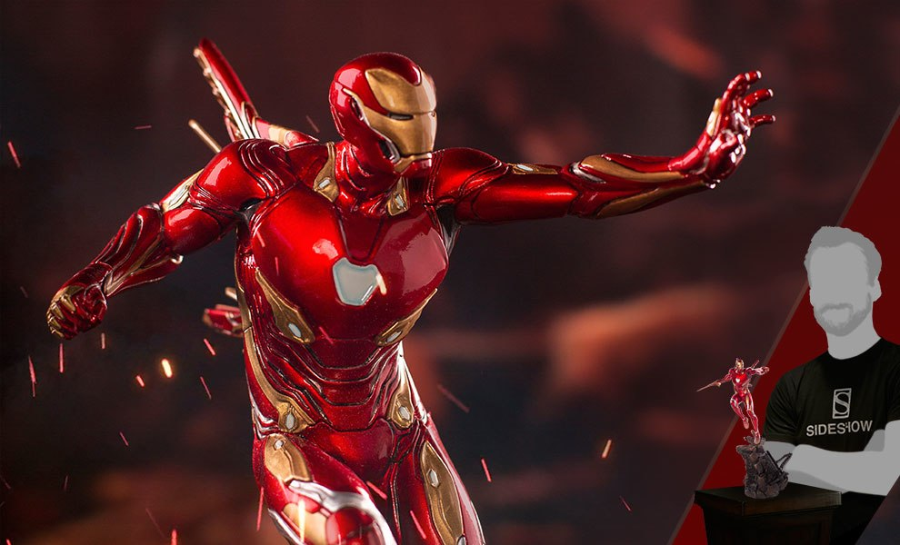 Gallery Feature Image of Iron Man Mark L Statue - Click to open image gallery