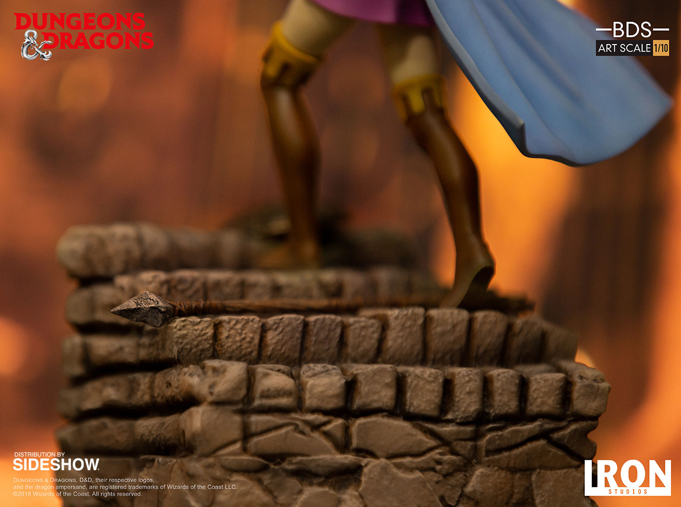 Dungeons and Dragons Sheila the Thief Statue by Iron Studios