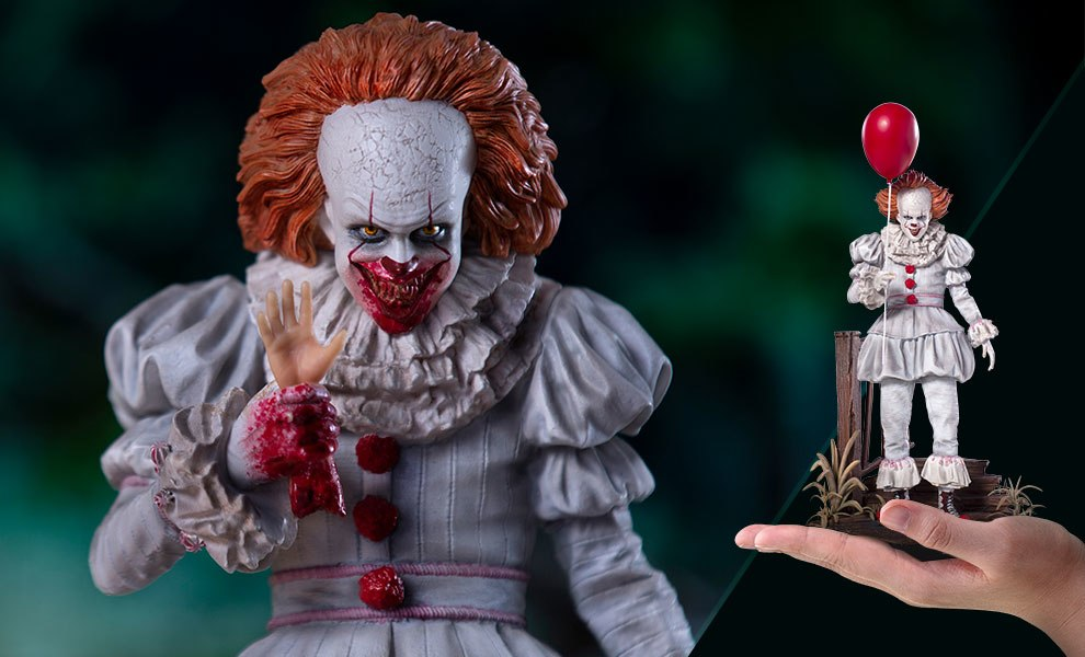 Gallery Feature Image of Pennywise Deluxe Statue - Click to open image gallery