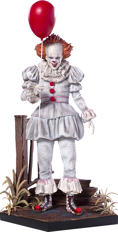 Iron Studios Pennywise Deluxe Statue