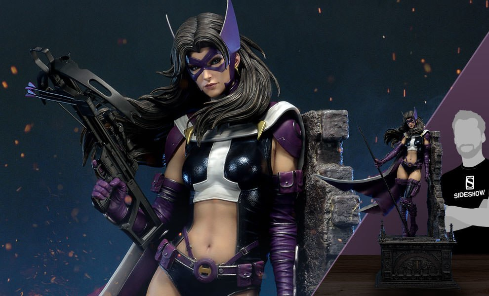 Gallery Feature Image of Huntress Sculpt Cape Edition Statue - Click to open image gallery