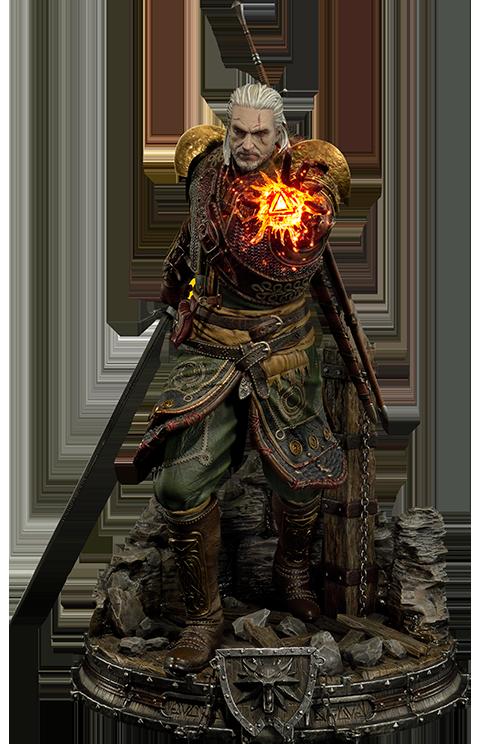 Prime 1 Studio Geralt of Rivia Skellige Undvik Armor Statue
