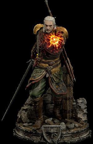 Geralt of Rivia Skellige Undvik Armor Statue