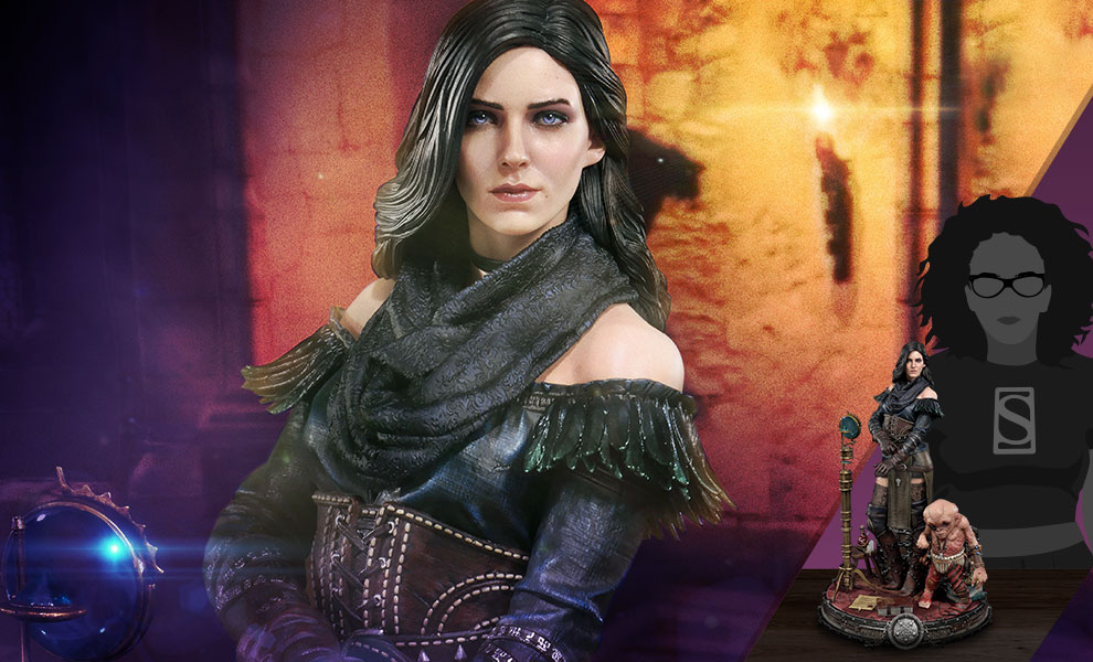 Gallery Feature Image of Yennefer of Vengerberg Alternative Outfit (Deluxe Version) Statue - Click to open image gallery