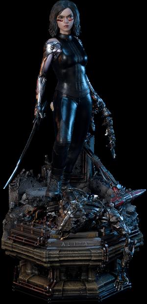 Alita Berserker Deluxe Version Statue