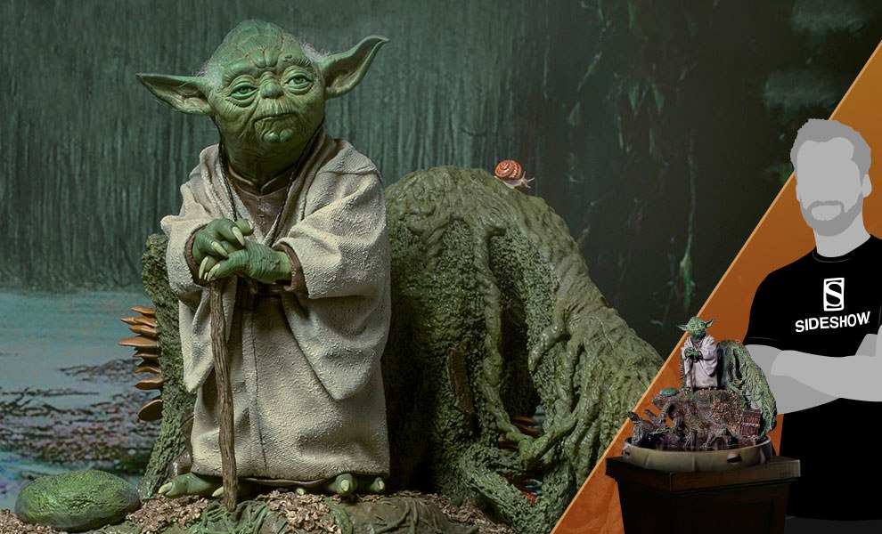 Gallery Feature Image of Yoda Statue - Click to open image gallery