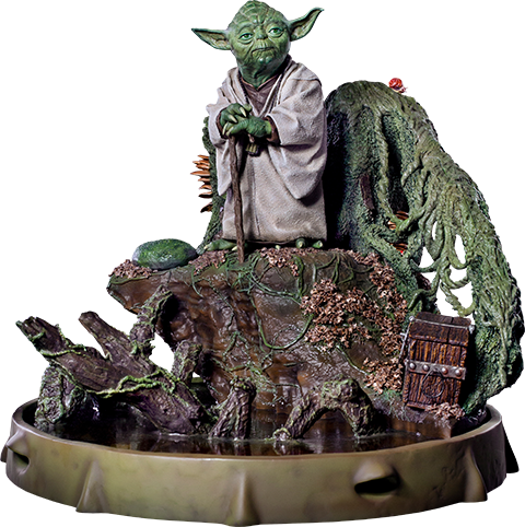 Iron Studios Yoda Statue
