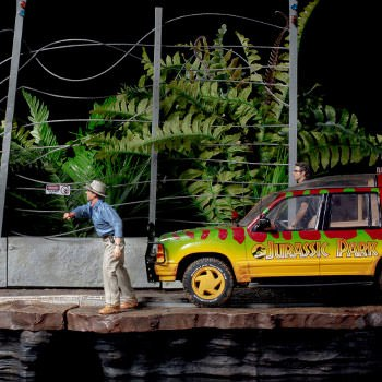 T-Rex Attack Set B Jurassic Park 1:10 Scale Statue